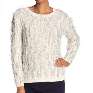 NWT Vince Camuto Fringe Sweater